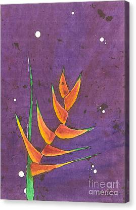 Heliconia Canvas Print