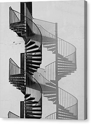 Helix Canvas Print by Inge Riis McDonald