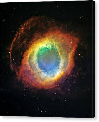 Helix Nebula 2 Canvas Print by Jennifer Rondinelli Reilly - Fine Art Photography