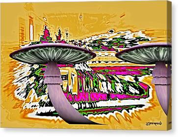 Hell Travel Canvas Print by Klaas Hartz