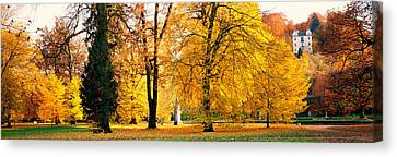 Hellbrunn Park Salsburg Vicinity Austria Canvas Print by Panoramic Images