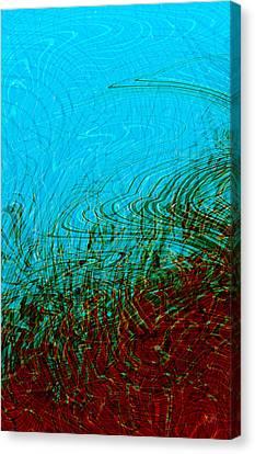Hellfreezesover Canvas Print by Matt Lindley