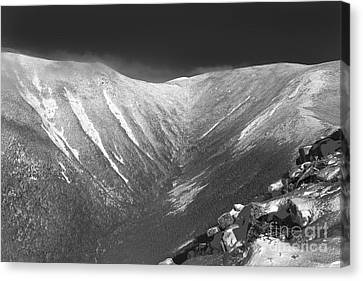 Hellgate Ravine - White Mountains New Hampshire Canvas Print