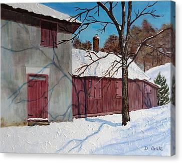 Helliwell House Todmorden Canvas Print by Diane Arlitt