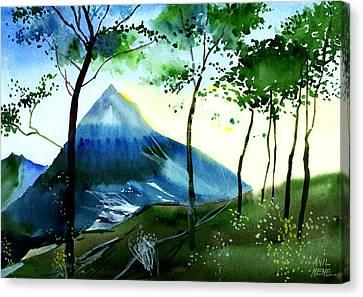 Hello Canvas Print by Anil Nene