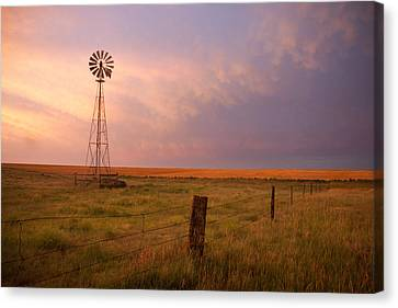 Hello Kansas Canvas Print by Shirley Heier
