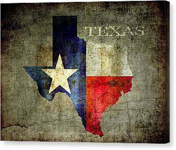 Hello Texas Canvas Print by Daniel Hagerman