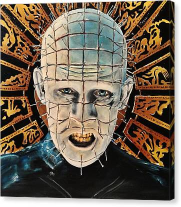 Hellraiser Canvas Print by S G Williams