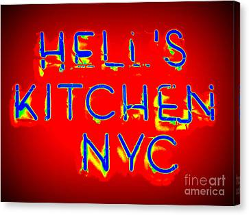 Hell's Kitchen Nyc Canvas Print by Ed Weidman