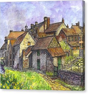 Helmsley Village -  In Yorkshire England  Canvas Print by Carol Wisniewski