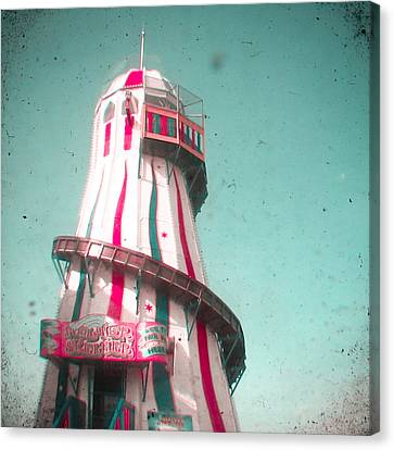 Helter Skelter Canvas Print by Cassia Beck