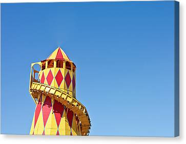 Helter Skelter Canvas Print by Tom Gowanlock