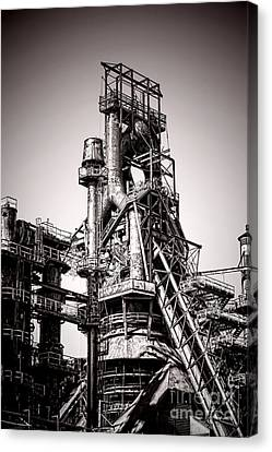 Helter Smelter Canvas Print by Olivier Le Queinec