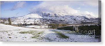 Helvellyn Mountain Range Canvas Print by Tim Gainey