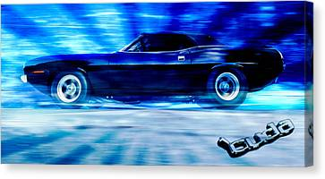 Hemi Cuda Canvas Print by Phil 'motography' Clark