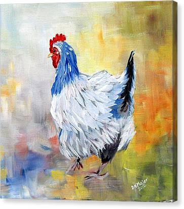 Hen Canvas Print by Dorothy Maier