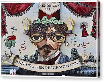 Cellar Canvas Print - Hendrick's Gin by Gary Keesler