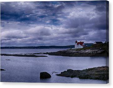 Hendricks Head Light Canvas Print by Jeff Folger