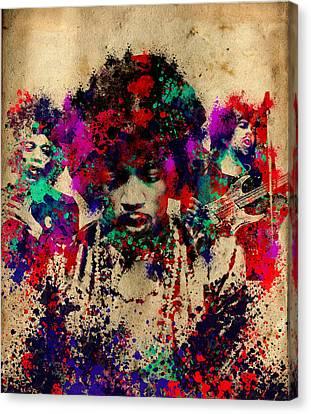 Hendrix 2 Canvas Print