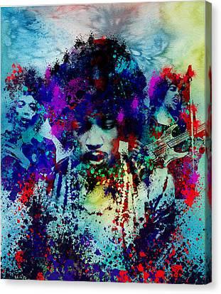 Hendrix 3 Canvas Print