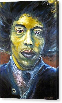 Hendrix Experienced Canvas Print