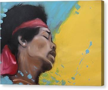 Hendrix Woodstock Canvas Print