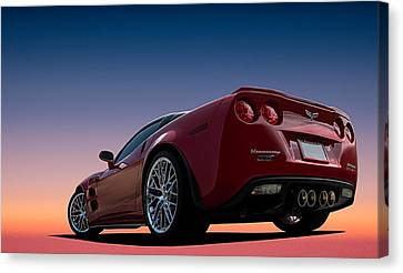 Custom Canvas Print - Hennessey Red by Douglas Pittman