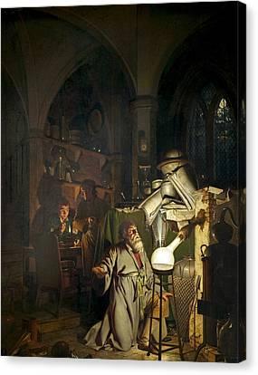 Hennig Brand, German Alchemist Canvas Print