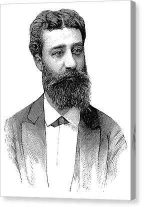 Henri Moissan Canvas Print by Science Photo Library