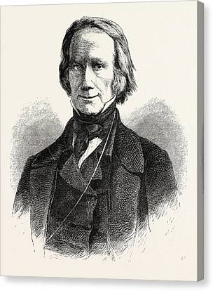 Henry Clay, 1777-1852, He Was A Lawyer, Politician Canvas Print