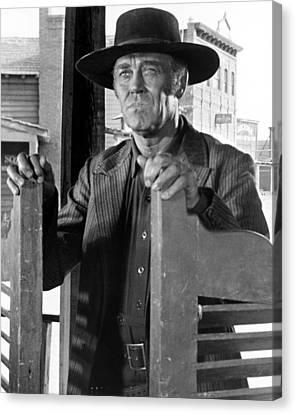Henry Fonda In C'era Una Volta Il West  Canvas Print by Silver Screen
