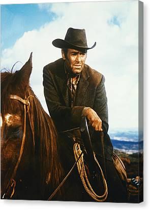 Henry Fonda In Firecreek  Canvas Print by Silver Screen