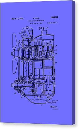 Henry Ford's Internal Combustion Engine Canvas Print by Mountain Dreams