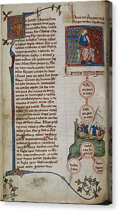 Henry I Canvas Print by British Library