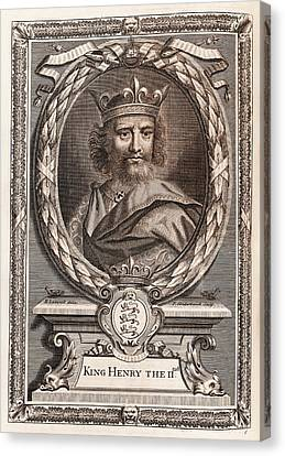 Henry II Canvas Print by Middle Temple Library