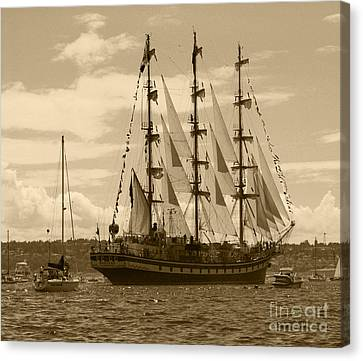 Her Russian Backside Pallada Canvas Print by Kym Backland