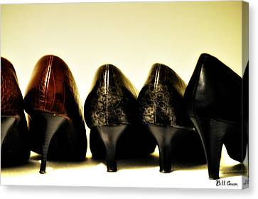 Her Shoes Canvas Print by Bill Cannon