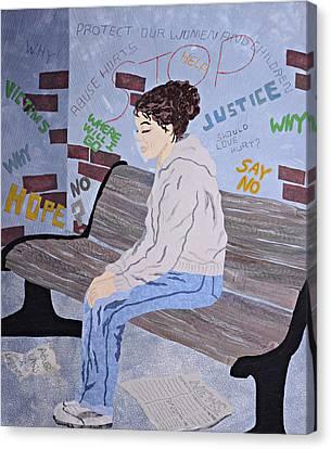 Her Story Canvas Print by Pauline Barrett