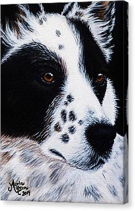Herding Dog Canvas Print