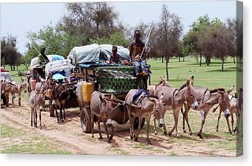 Senegal Canvas Print - Herdsmen by Thierry Berrod, Mona Lisa Production