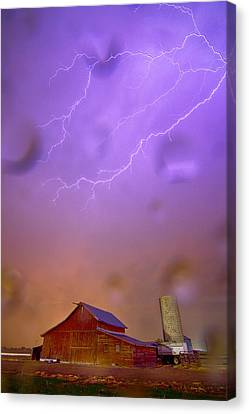 Here Comes The Rain Canvas Print by James BO  Insogna