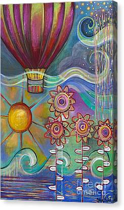 Here Comes The Sun Canvas Print by Carla Bank
