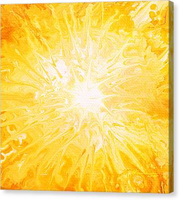 Here Comes The Sun Canvas Print by Kume Bryant