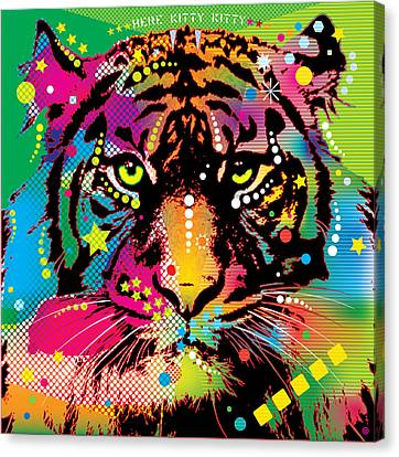 Here Kitty Kitty Canvas Print by Gary Grayson