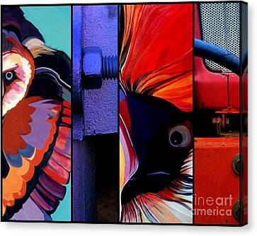 Here's Lookin' At You Kid Canvas Print by Marlene Burns