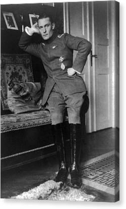 Herman Goering, Convalescing From A Hip Canvas Print by Everett