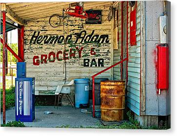 Herman Had It All Canvas Print by Steve Harrington
