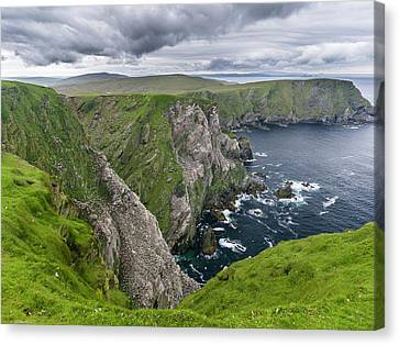 Hermaness National Nature Reserve Canvas Print by Martin Zwick