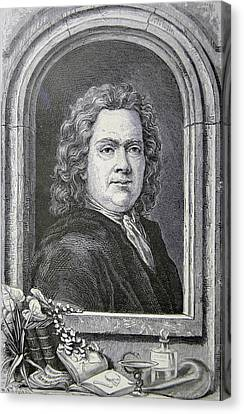 Hermann Boerhaave Canvas Print by Universal History Archive/uig