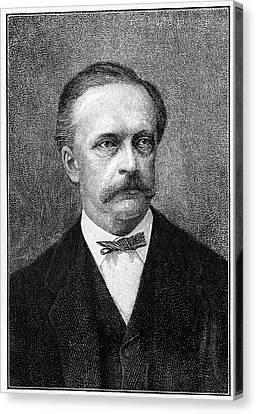 Hermann Von Helmholtz Canvas Print by Cci Archives